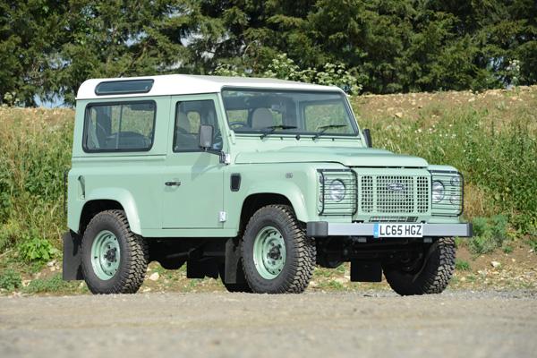 2015 Land Rover Defender Rowan Atkinson