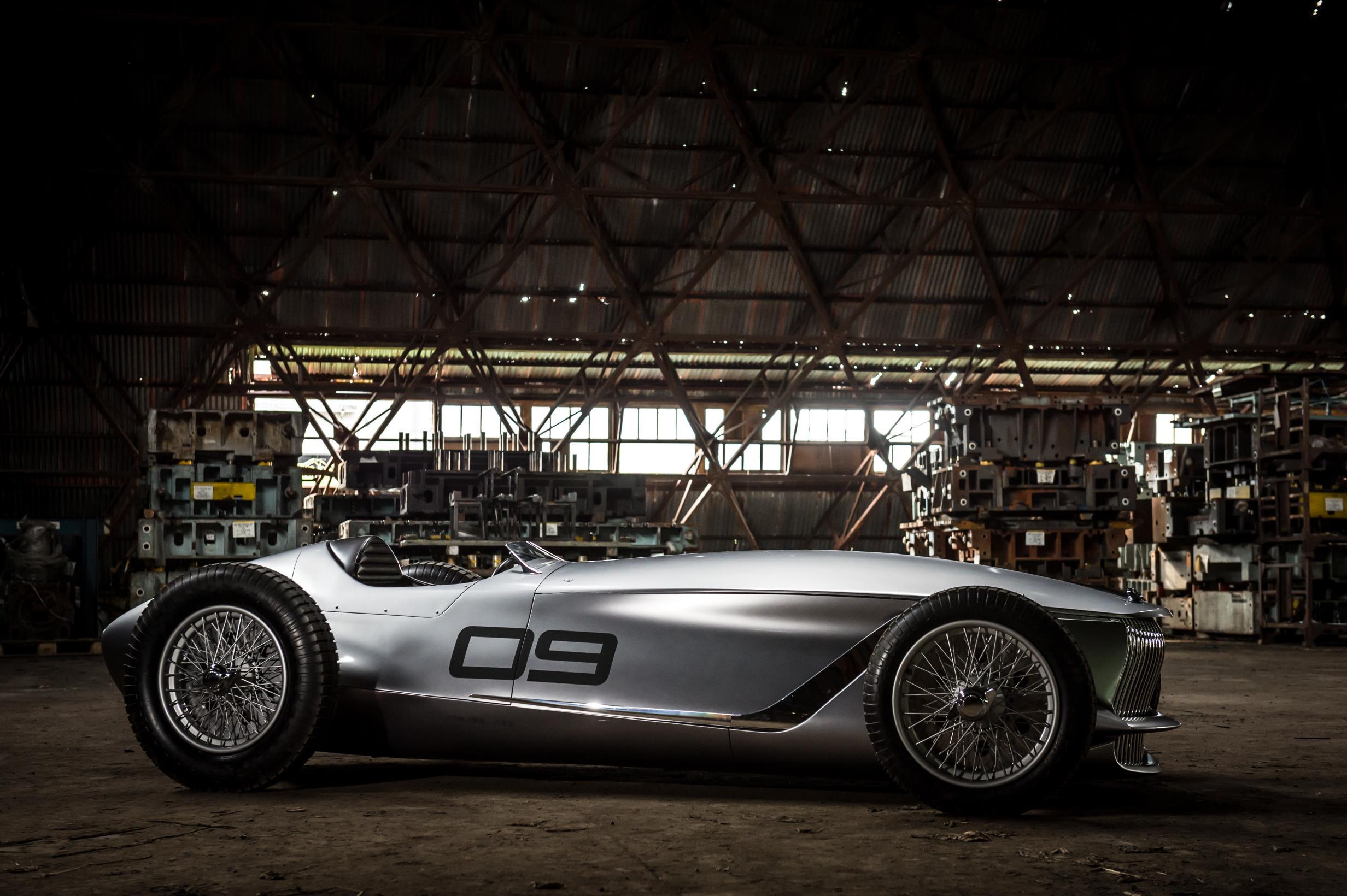 Infiniti reveal 'Prototype 9' at Pebble Beach