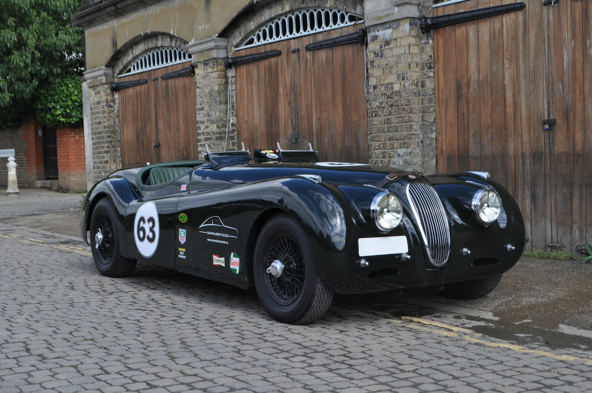 1950 'Alloy-bodied' XK120 racer