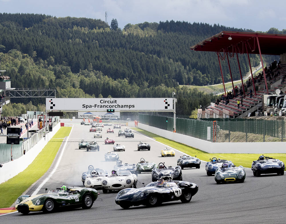 Motor Racing Legends Steal the Show at Spa