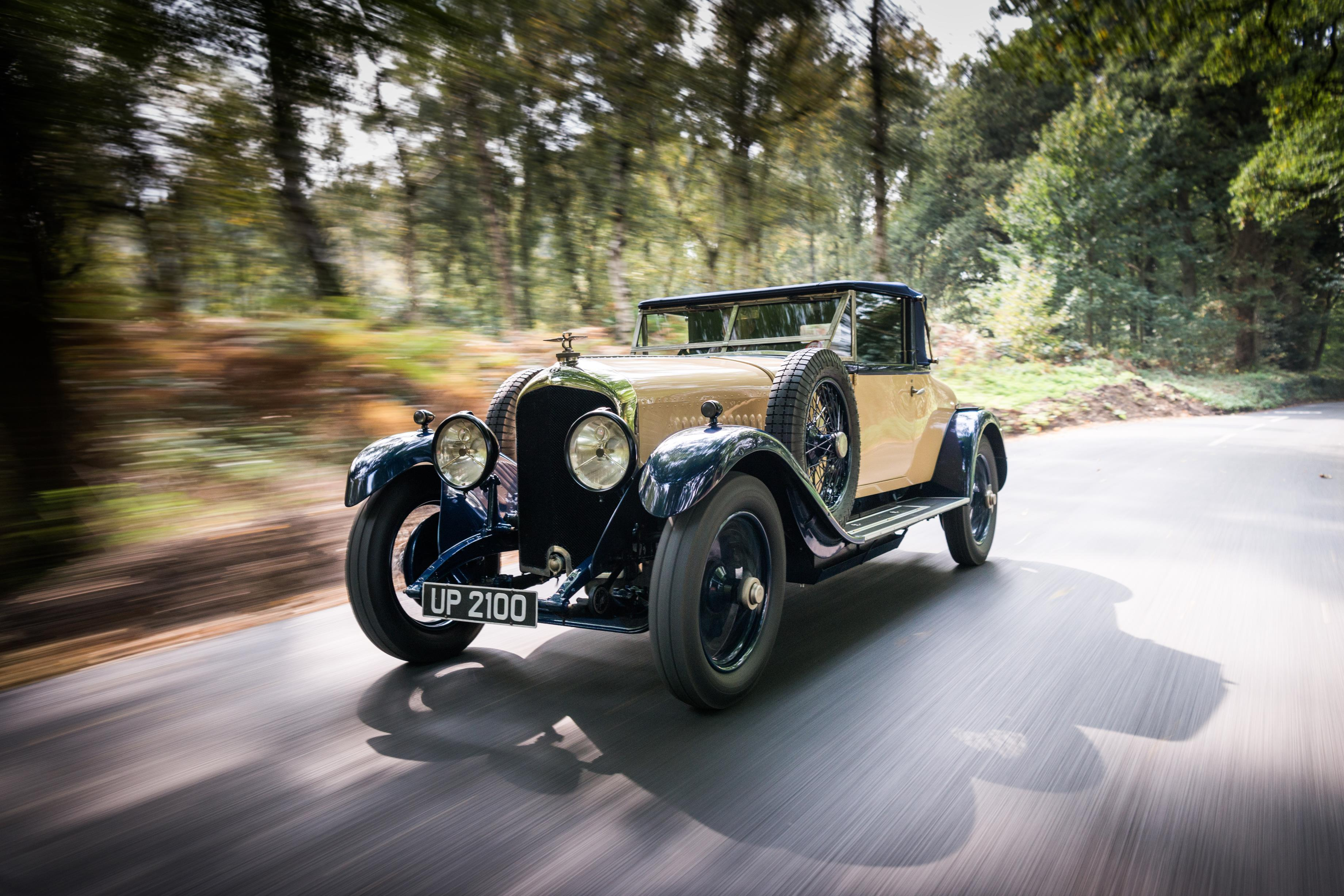 Rare 'Victor Broom' bodied Bentley 41/2 Litre brought back to life by William Medcalf.