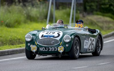 On the road to Rome with the Mille Miglia