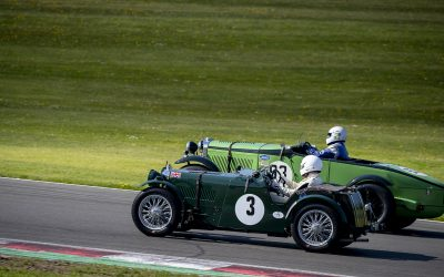 Legendary cars feature in Mad Jack Pre-War race at Donington Historic Festival