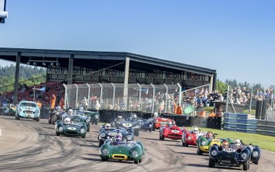 Motor Racing Legends thrill at Thruxton 50th Anniversary celebration