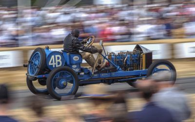 Twelve action pictures from Goodwood Festival of Speed