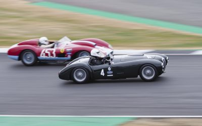Motor Racing Legends shine at Silverstone Classic