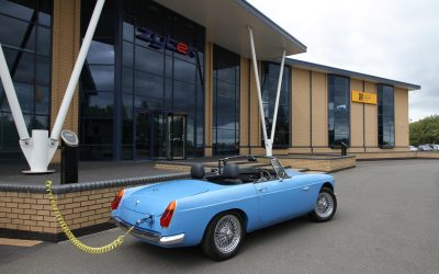 An all electric classic MG anyone?