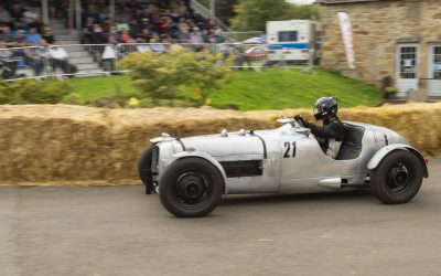 Bo'ness Revival: Keeping motorsport history alive in Scotland