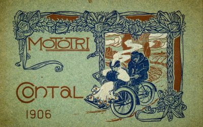 112 Year Old Mototri Contal Three-Wheeler to Take on Peking to Paris