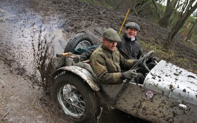 Historic Sporting Trial Season gets off to a Muddy Start