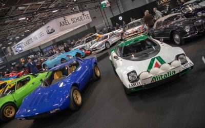 Salon Retromobile Jewel Still Shines Resplendent