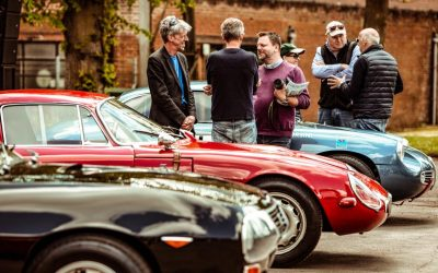 Petrolicious debuts at Bicester Heritage