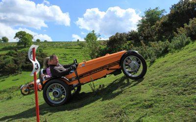 Historic Sporting Trials at Blackmoor Farm, Somerset