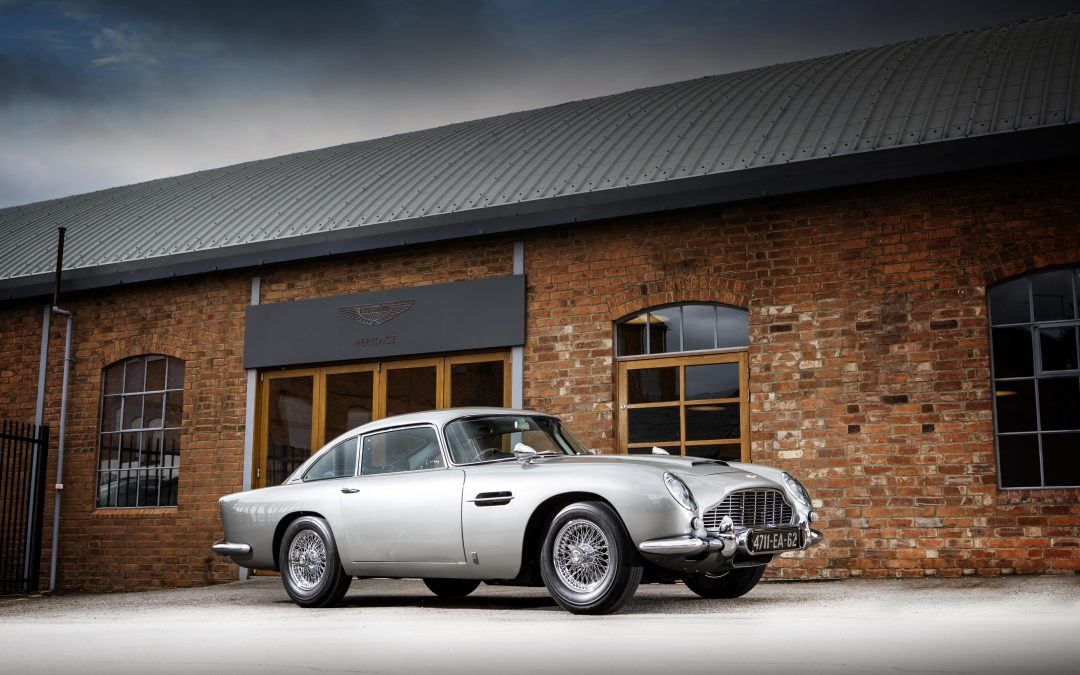 007 Aston Martin DB5 for £5 million?