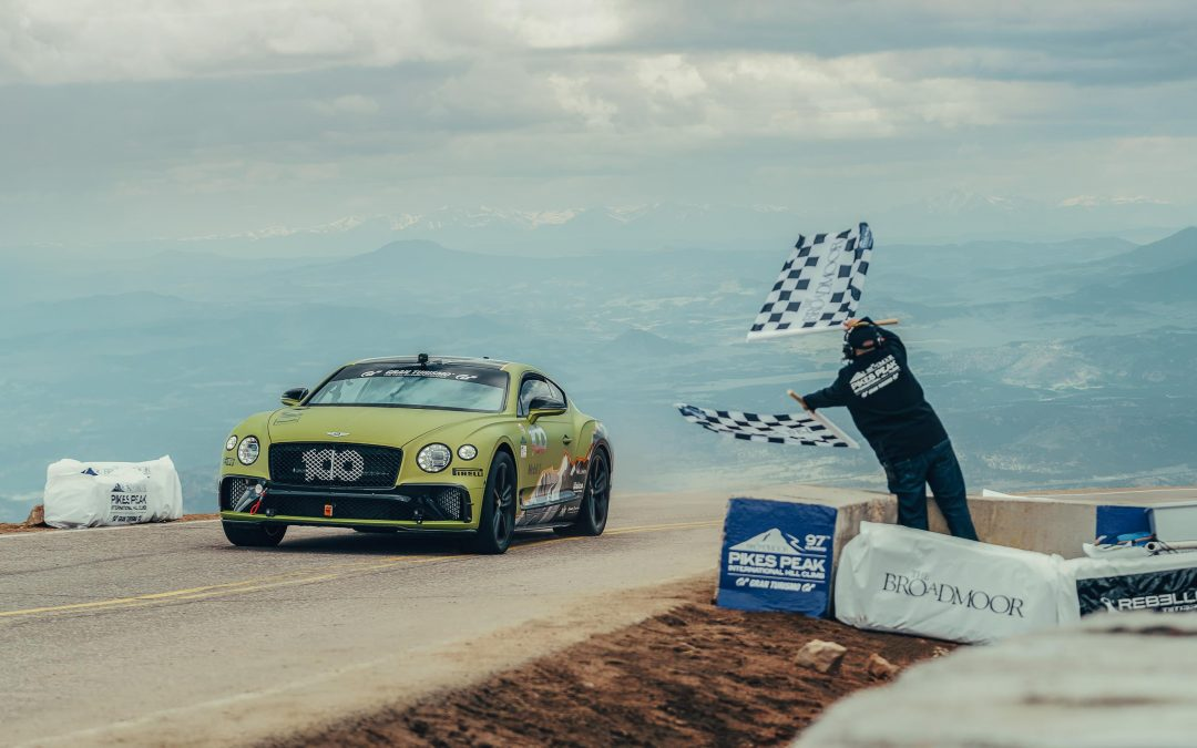 Bentley at Pikes Peak Hill Climb
