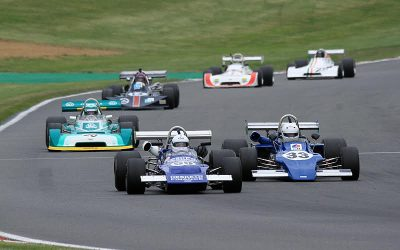 HSCC F2, F3 and Thundersports at the Silverstone Classic