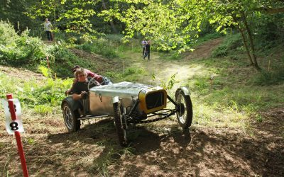 HSCC's Summer Historic Sporting Trial in Hertfordshire