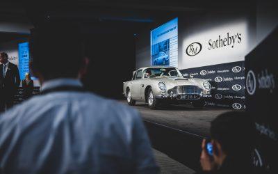 1965 Aston Martin DB5 'Bond Car' reaches $6m