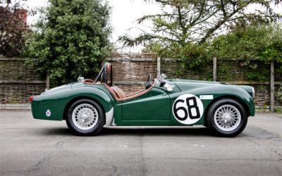 1955 ex-Works Triumph TR2 for sale