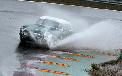 Challenging conditions at Zandvoort Historic Grand Prix