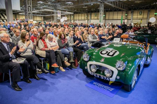 Silverstone Auctions Sale at the NEC Classic Car Show