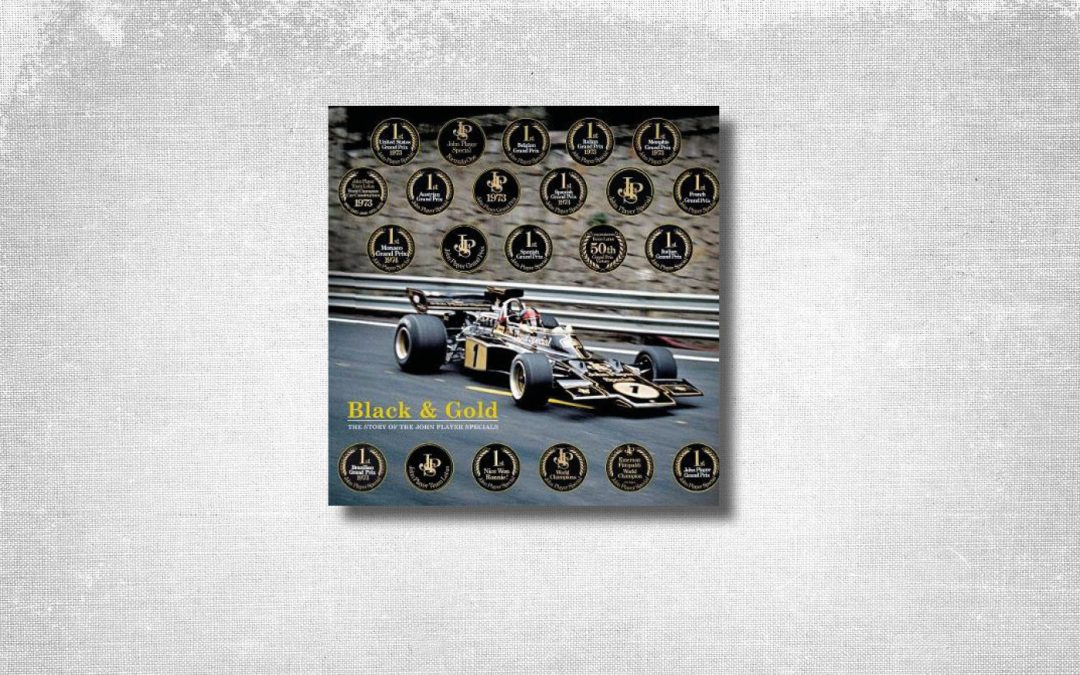 Gifts for Lotus enthusiasts – Black and Gold by Johnny Tipler