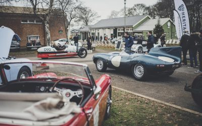 Bicester Heritage New Year Scramble Sell-out