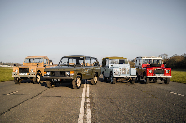 Land Rover Legends moves to Thruxton for 2020