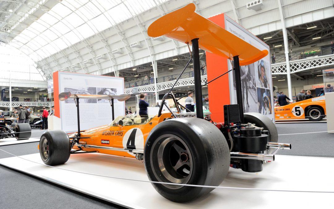 Olympia Classic Car Show a Success