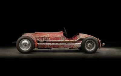 Mussolini owned Alfa Romeo 6C 1750 SS uncovered