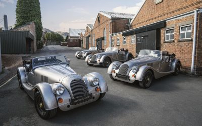 Morgan Roll Out the First 70th Anniversary Edition Models