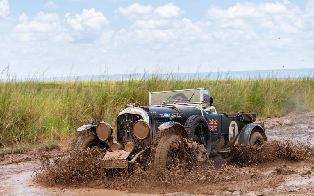 Bentley Takes Honours in East African Adventure