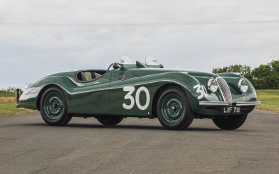 The rare and unusual feature in this weekend's Silverstone Auctions Sale