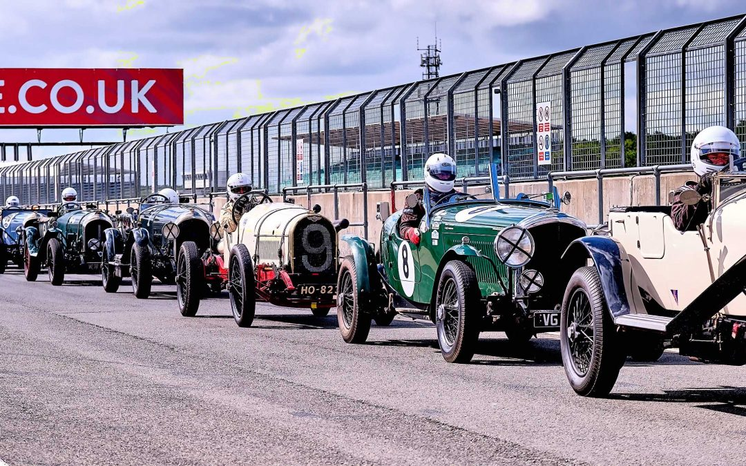 Bentley Drivers Club Race at Silverstone