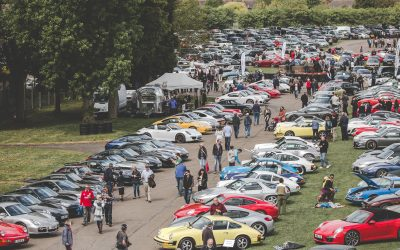 Classic Car Drive In at Bicester Heritage