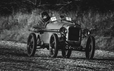 VSCC Winter Driving Tests at Bicester Heritage