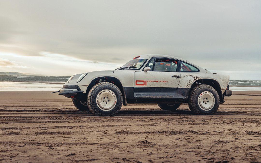 Singer reveals all terrain 'Dakar' ready Porsche
