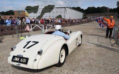 Sir Stirling Moss Tribute at Brooklands