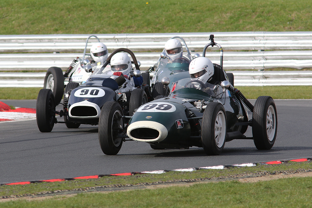 Historic Formula Ford thrillers at HSCC Snetterton - Auto Addicts