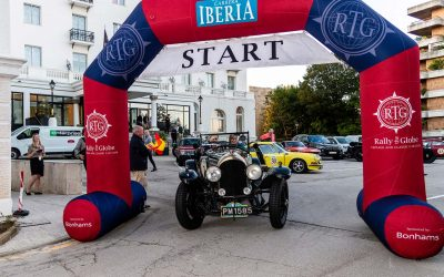Rally the Globe's Inaugural Event – Carrera Iberia