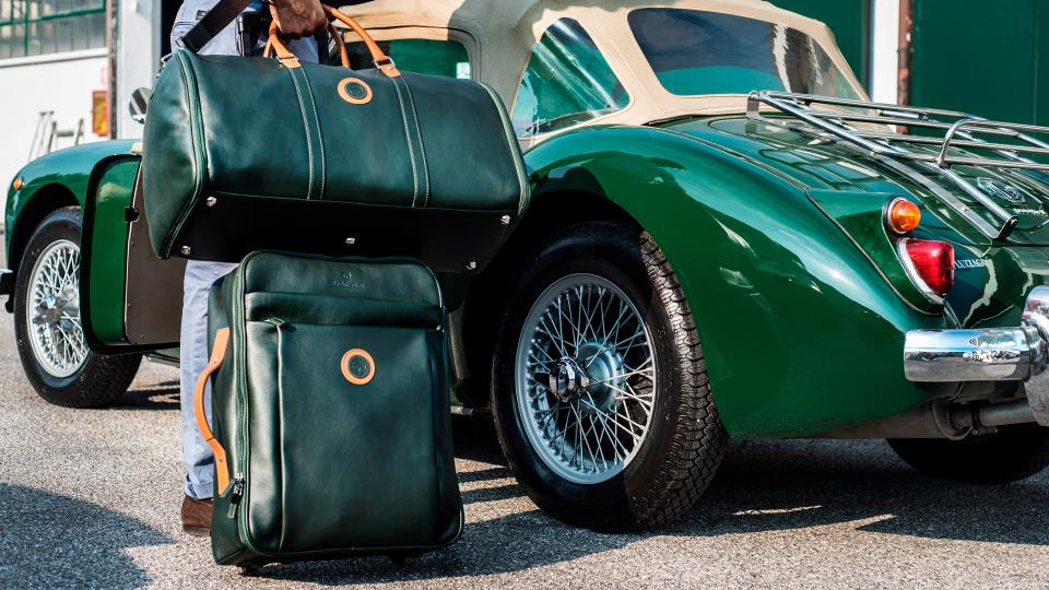 Bespoke Classic Luggage by Outlierman