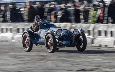 VSCC at Brooklands – New Year Driving Tests