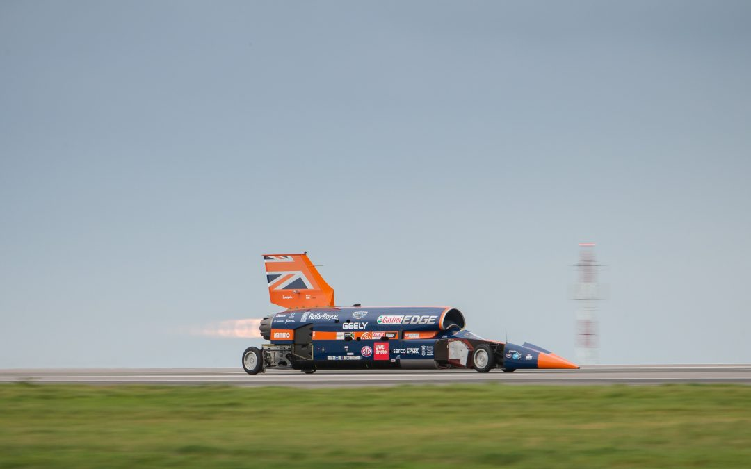 A message from Richard Noble about the Bloodhound Project.