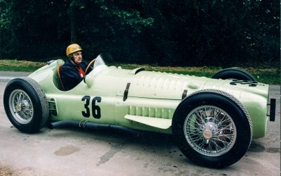 BRM to build new 1950s style V16 racers in association with Hall and Hall