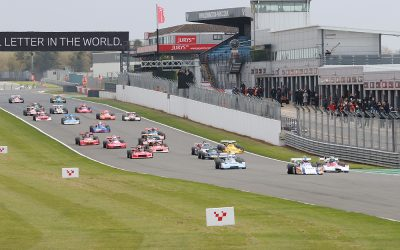 Britain returns to racing with the Masters Festival at Donington