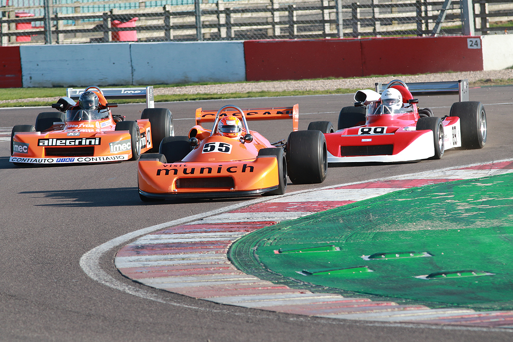 Historic F2 stars at Donington Park