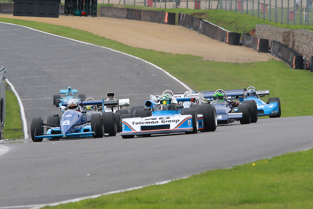 Wrigley and Stretton top HSCC Brands Hatch